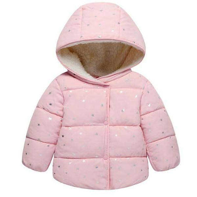 Pink Star Light Insulated Jacket