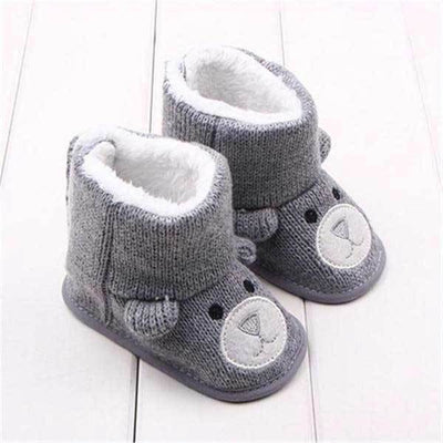 Warm Winter Bear Boots