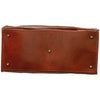 "Old America"" Bag (Medium) - Brown - Italian Calfskin Leather"