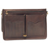 Briefcase - Dark Brown - Italian Calfskin Leather