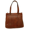 Tote Bag - Brown - Italian Calfskin Leather