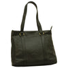 Tote Bag - Black - Italian Calfskin Leather