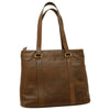 Tote Bag - Dark Brown - Italian Calfskin Leather