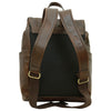 Laptop backpack - Dark Brown - Italian Calfskin Leather