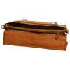 Briefcase with shoulder strap - Colonial - Italian Calfskin Leather