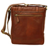 Satchel Bag - Brown - Italian Calfskin Leather