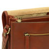Messenger Bag - Brown - Italian Calfskin Leather