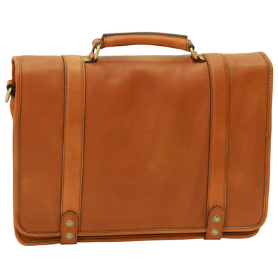 Briefcase - Colonial - Italian Calfskin Leather