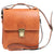 Cross Body Satchel Bag - Colonial - Italian Calfskin Leather