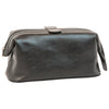 Beauty Case - Black - Italian Calfskin Leather