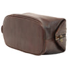 Beauty Case - Dark Brown - Italian Calfskin Leather