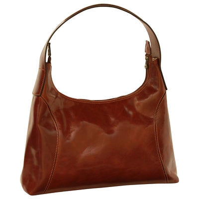Shoulder Bag - Black - Italian Calfskin Leather