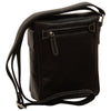 crossbody bag - Black - Italian Calfskin Leather