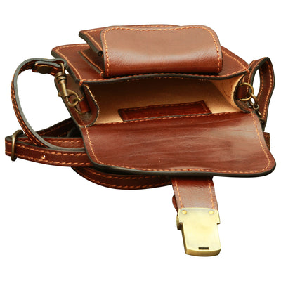 Belt Piece - Brown - Italian Calfskin Leather
