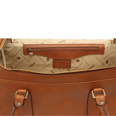Travel Bag - Colonial - Italian Calfskin Leather