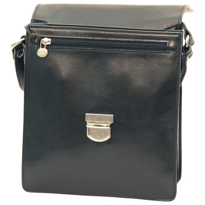 Satchel - Black - Italian Calfskin Leather