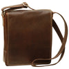 I-Pad bag - Dark Brown - Italian Calfskin Leather