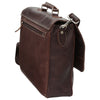 Laptop Briefacase - Dark Brown - Italian Calfskin Leather