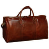 Weekend Travel Bag – Brown - Italian Calfskin Leather - 60cm