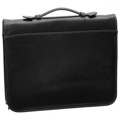 Binder - Black - Italian Calfskin Leather