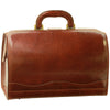 Doctors Bag - Brown - Italian Calfskin Leather - 35cm