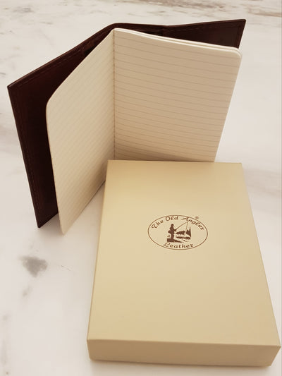 Notepad - Brown - Italian Calfskin Leather