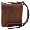 Satchel Bag - Chestnut - Italian Calfskin Leather