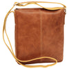 Satchel Bag - Brown Colonial - Italian Calfskin Leather