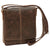Satchel Bag - Dark Brown - Italian Calfskin Leather