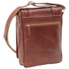 Bag With Double Magnetic Closure - Brown - Italian Calfskin Leather