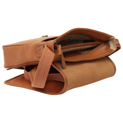 Bag With Magnetic Closure - Colonial - Italian Calfskin Leather