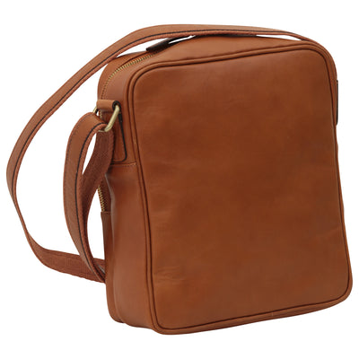 Bag With Zip Closures - Colonial - Italian Calfskin Leather