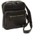 Bag With Zip Closures - Black - Italian Calfskin Leather