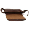 Messenger - Brown - Italian Calfskin Leather