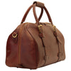 Duffle Bag - Brown - Italian Calfskin Leather