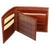 Bifold Wallet - Brown - Italian Calfskin Leather
