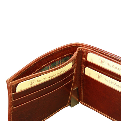 Bifold Wallet - Italian Calfskin Leather