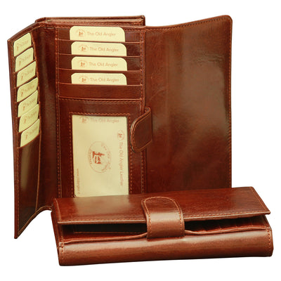 Wallet - Brown - Italian Calfskin Leather