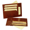 Credit Card Holder - Brown - Italian Calfskin Leather