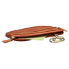 Key Chain - Brown - Italian Calfskin Leather