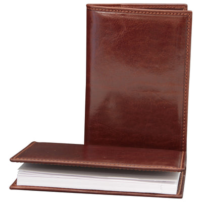 Daily Planner - Brown - Italian Calfskin Leather