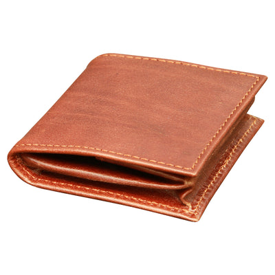 Coin Purse - Brown - Italian Calfskin Leather