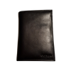 Passport Holder - Black - Italian Calfskin Leather