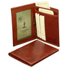 Document Holder - Brown - Italian Calfskin Leather