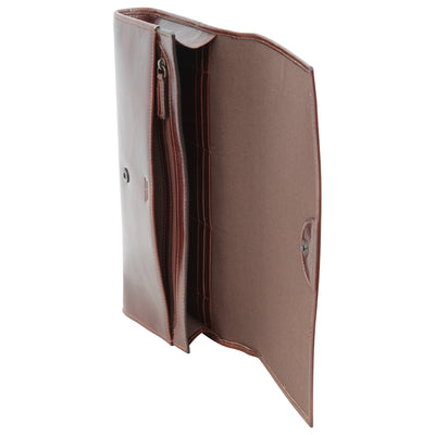 Portfolio - Brown - Italian Calfskin Leather