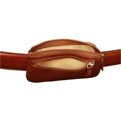 Belt Bag (Small) - Brown - Italian Calfskin Leather
