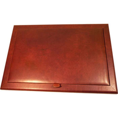 Desk Pad - Brown - Italian Calfskin Leather