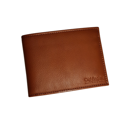 Bifold Wallet - 8 Card - Colonial - Italian Calfskin Leather
