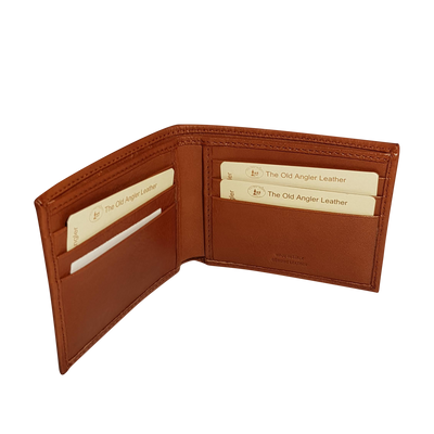Bifold Wallet - 6 Card - Colonial - Italian Calfskin Leather