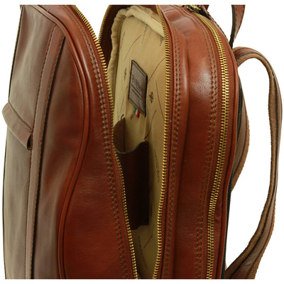 Backpack - Brown - Italian Calfskin Leather